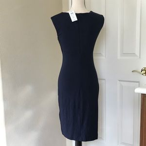Cache Dresses - NWT Navy Blue sleeveless Dress